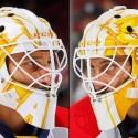 thumbs florida panthers roberto luongo goalie mask