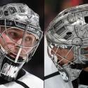 thumbs los angeles kings jonathan quick goalie mask