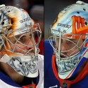 thumbs new york islanders thomas greiss goalie mask