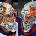 thumbs new york islanders thomas greiss goalie mask