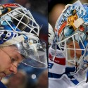 thumbs new york rangers antti raanta goalie mask