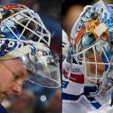 thumbs new york rangers antti raanta goalie mask