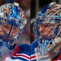 thumbs new york rangers henrik lundqvist goalie mask