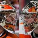 thumbs philadelphia flyers michal neuvirth goalie mask