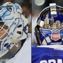 thumbs toronto maple leafs garret sparks goalie mask