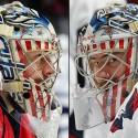 thumbs washington capitals philipp grubauer goalie mask