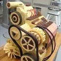 thumbs 8 engine wedding cake