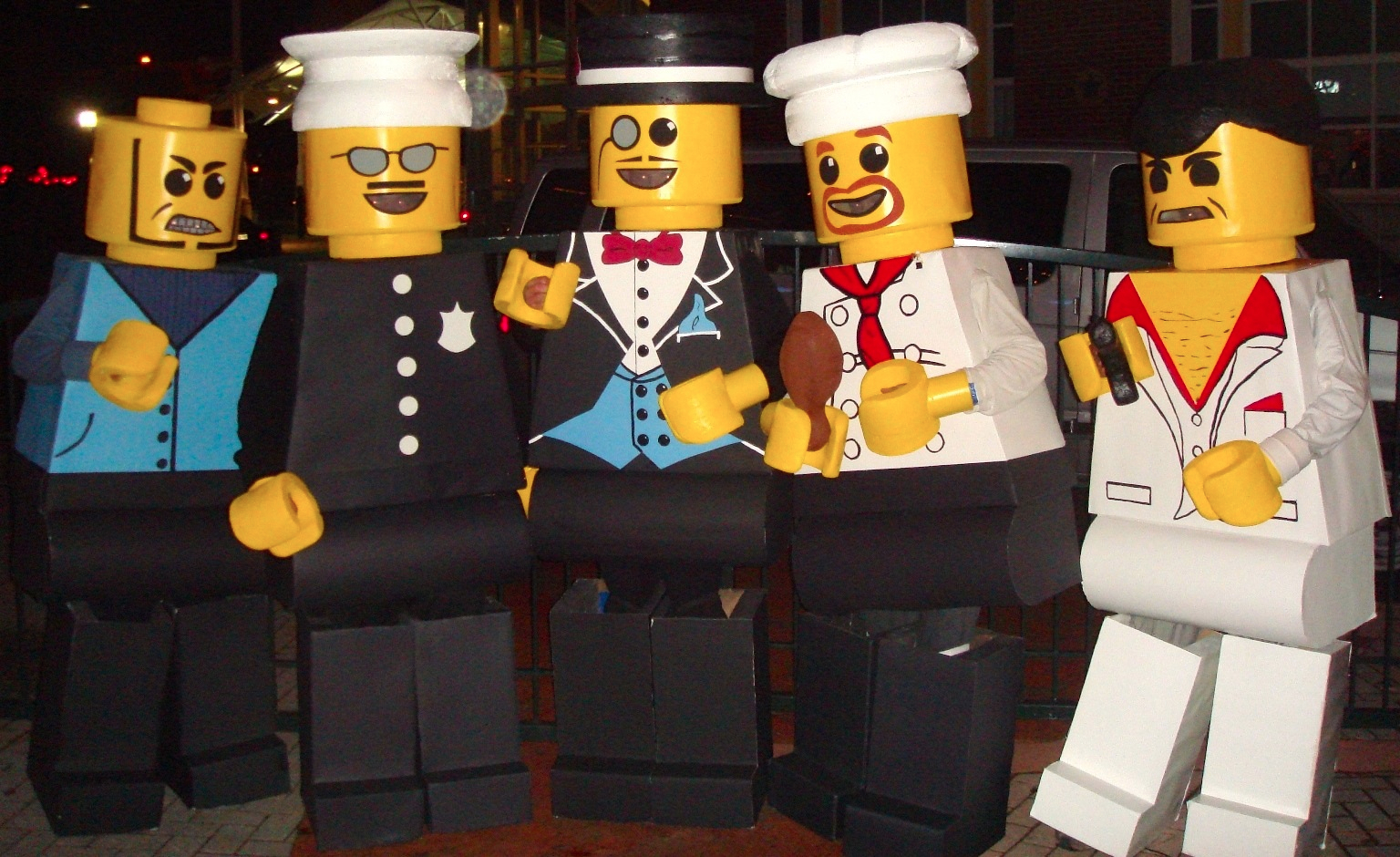 Legos. Media Source & Brilliant Group Halloween Costumes to Win the Party - Ken Dolls | Memes