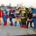 thumbs group costume halloween 014