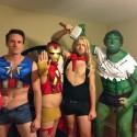 thumbs group costume halloween 109