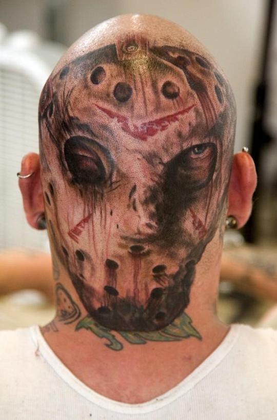 Creepy, Spooky, Scary Halloween Tattoos