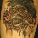 thumbs creepshow halloween tattoo