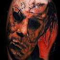 thumbs full michael myers halloween tattoo