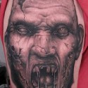 thumbs monster halloween tattoo 2