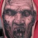 thumbs monster halloween tattoo 2