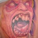 thumbs monster halloween tattoo