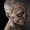 thumbs zombie boy halloween tattoo