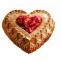 thumbs heart cake