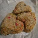 thumbs heart crab cake
