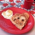 thumbs heart pancakes