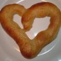 thumbs heart pretzel