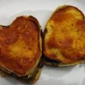 thumbs heart vegan lasagna