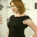 thumbs christina hendricks at a night on the town 7