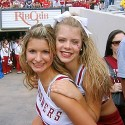 thumbs oklahoma sooners girls 86