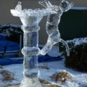 thumbs ice birdbath