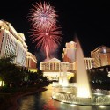 Caesars Palace Fireworks. 7-4-12. Steve Spatafore photo.