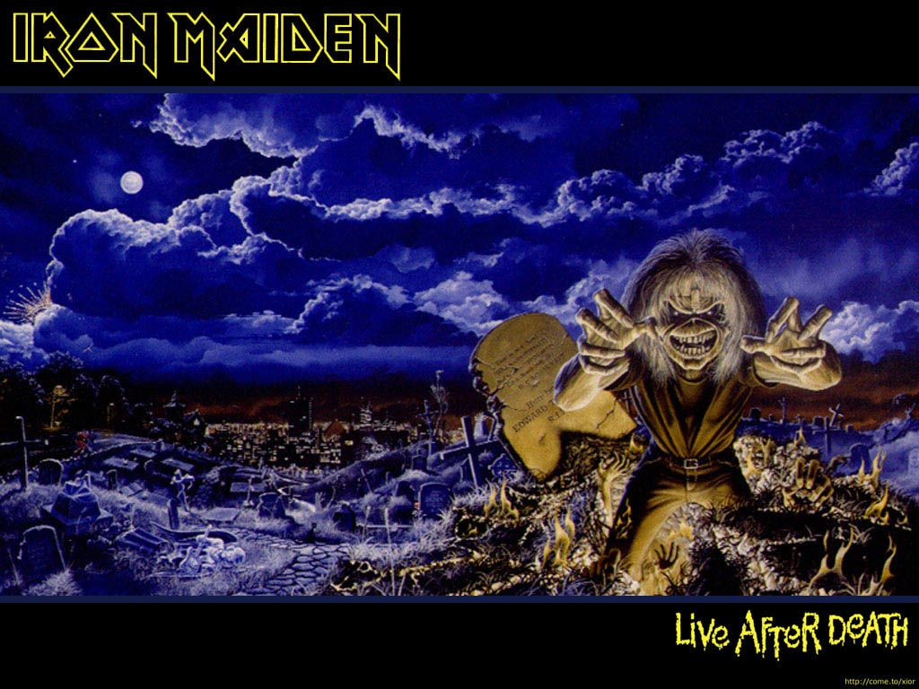 Iron Maiden Live After Death Volume Two