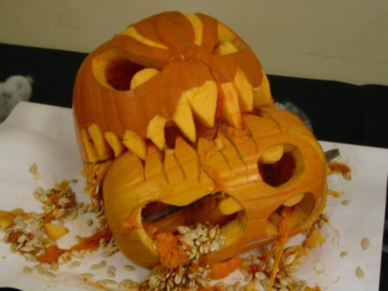 Creatively Carved Pumpkins