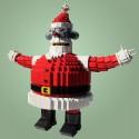 thumbs lego robot santa claus