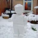 thumbs lego snowman