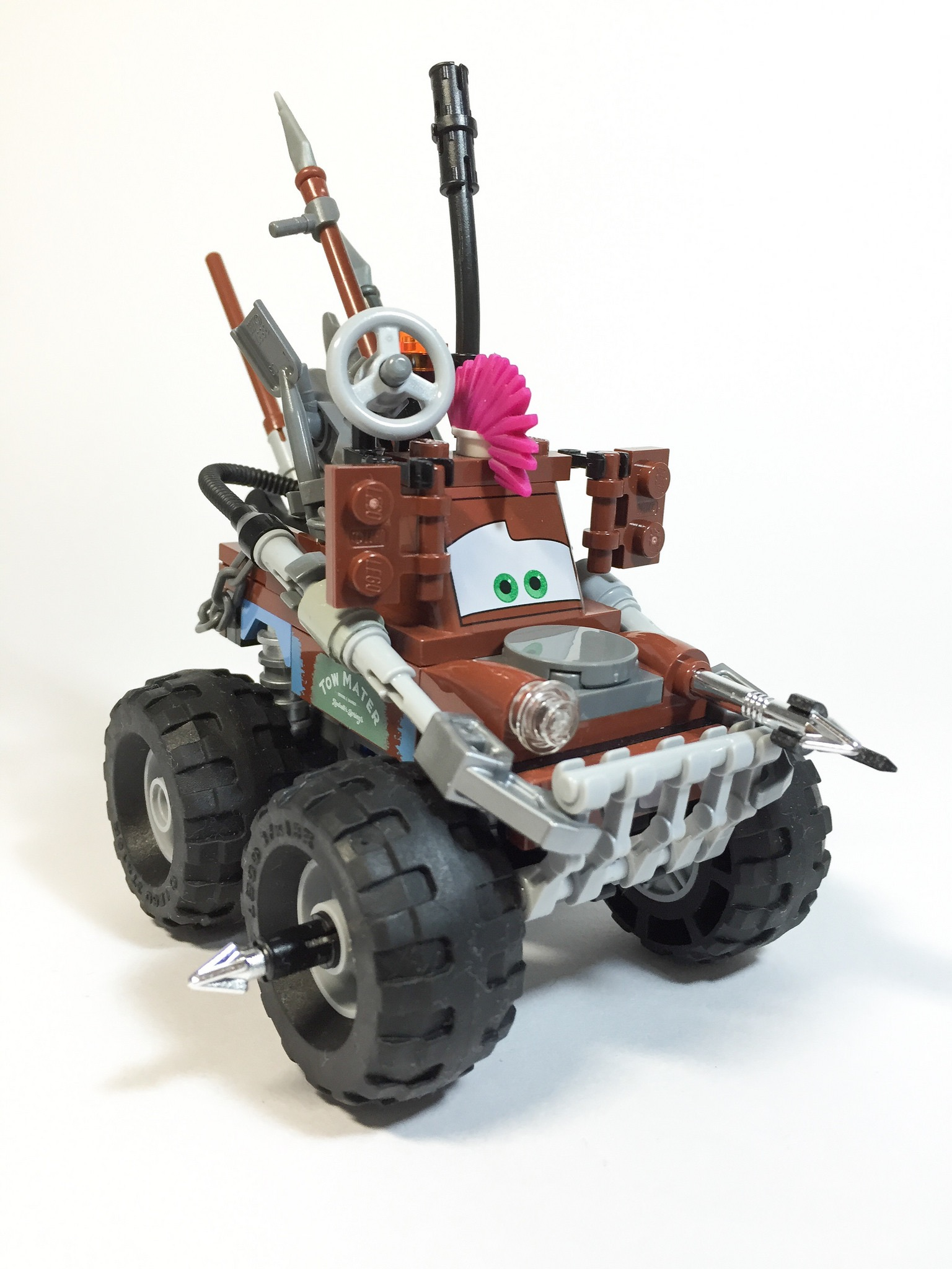 Mad Max Fury Road In Lego
