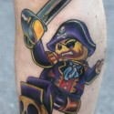 thumbs Lego Pirate Tattoo