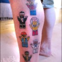 thumbs lego tattoo 32