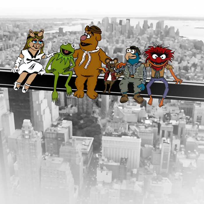 103 Best Images About The Muppets On Pinterest: Pop Culture Lunch Atop A Skyscraper