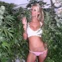 thumbs marijuana girl