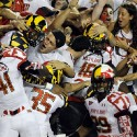 thumbs terps celebrate