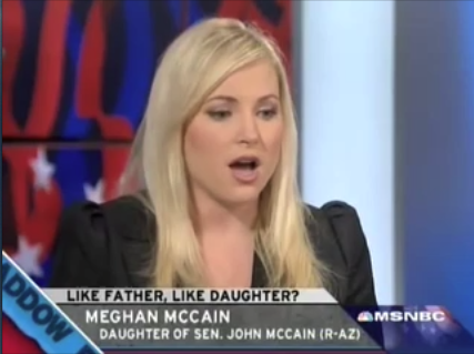 mccain girls Mccain daughter bashes younger palin for telling lies in her memoir regarding her and her mom  girls, you're out of luck you guys are kinda out of luck, too.