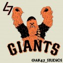 thumbs mlb star wars giants