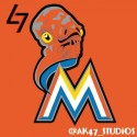 thumbs mlb star wars marlins