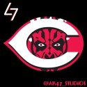 thumbs mlb star wars reds