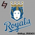 thumbs mlb star wars royals