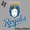 thumbs mlb star wars royals