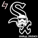 thumbs mlb star wars white sox