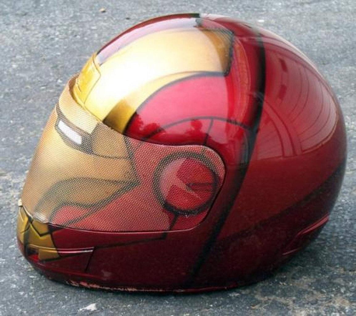 Скутер шлем своими руками