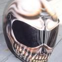 thumbs motorcycle helmet painting 03