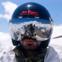 thumbs motorcycle helmet painting 11